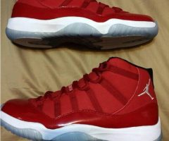 Authentic Air Jordan 11 Red PE Physical