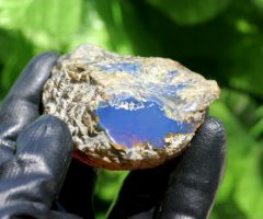 Dominican Sky Blue Amber Stone