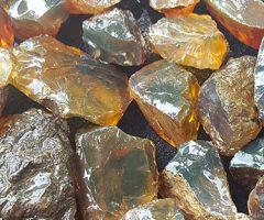 Green Amber Stones