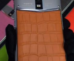 vertu constellation bb alligator leather fake phone, replica phone, copy phone, clone phone