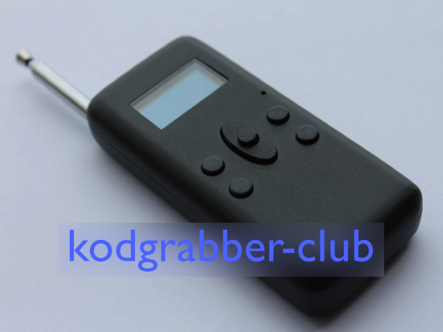 Codegrabber for barriers + RFID cards / Buy in France