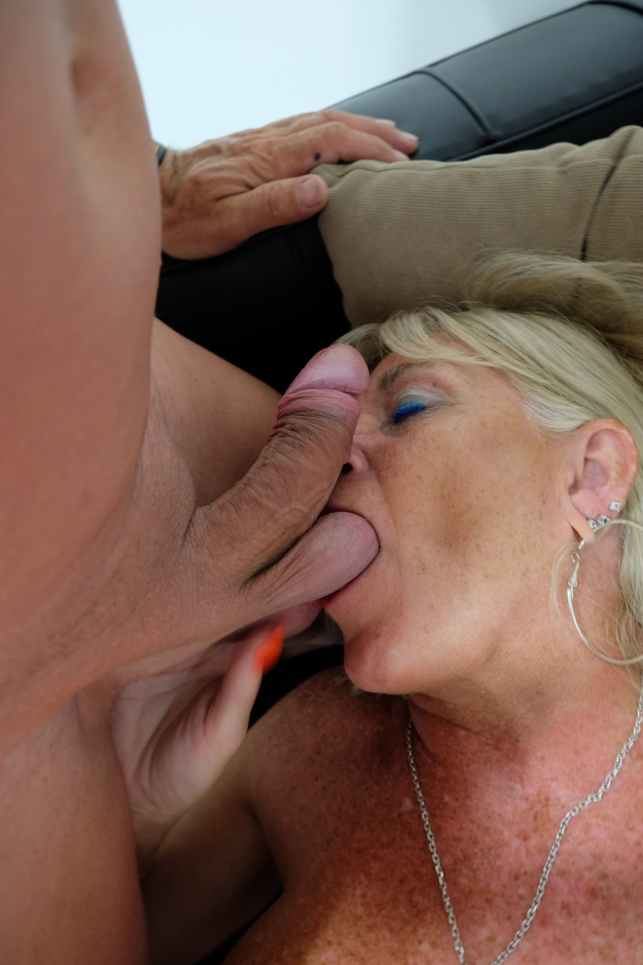 Dirty slut whore Sue loves cock and cum