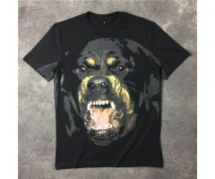 Famous Luxury Brand High Quality new fashion Rottweiler dog tee t shirts for men women cotton