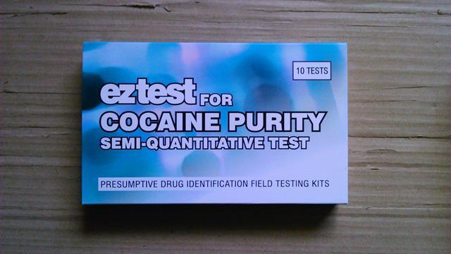 EZ-TEST COCAINE PURITY TEST