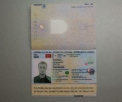 Lithuanian, Netherlands, Denmark, Great Britain, Canada Newest generation passports