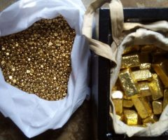 We have available gold bars / dust and nugget