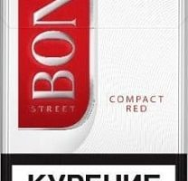 Bond Street Red Compact – Cheap Cigarettes in the UK
