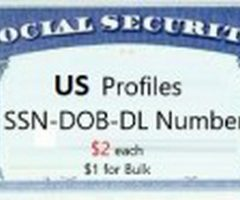 Quality US Fulls [SSN-DOB-DL & More]