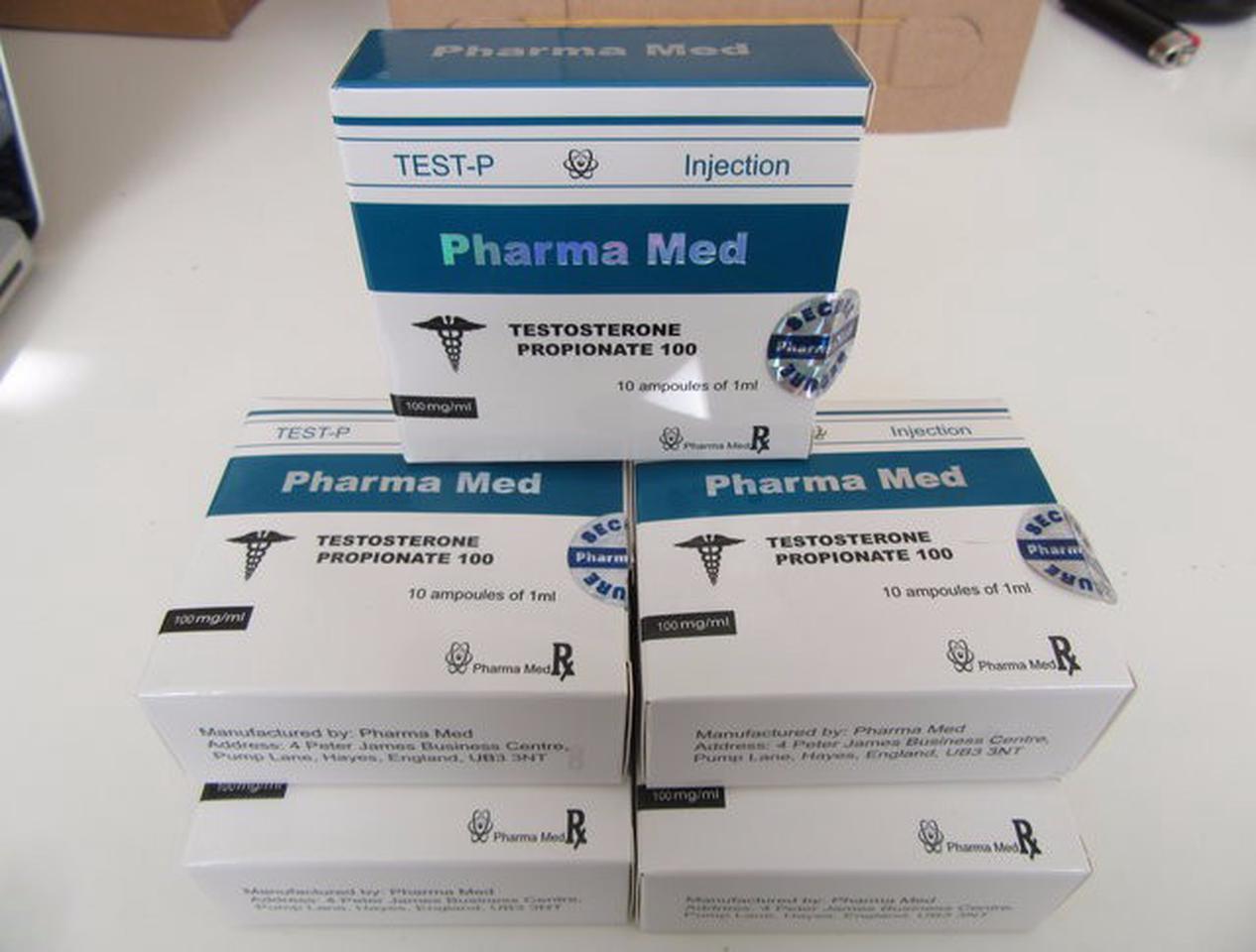 Med Testosterone Propionate Steroids 50 box of 10