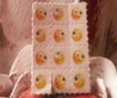 1x LSD Blotter Smiley