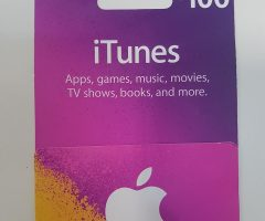 US store itunes card